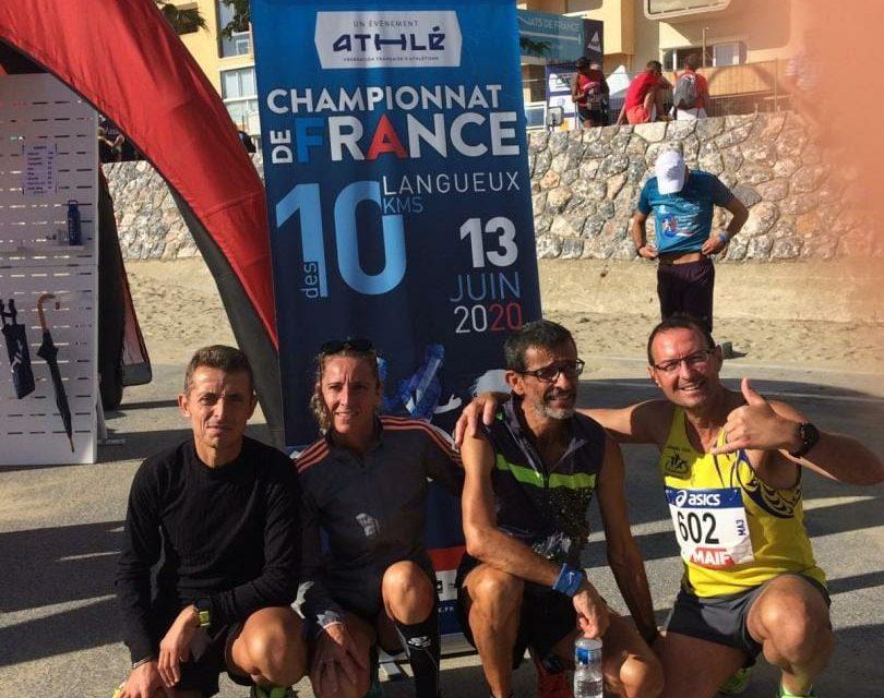 Championnat de France 10 km 2019 Canet en Roussillon 06 Octobre 2019