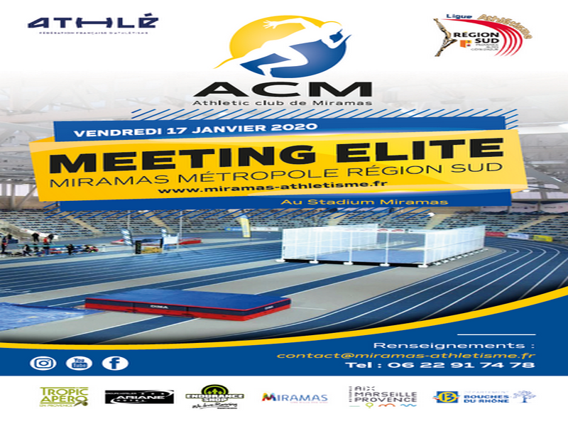 Meeting ELITE Miramas Métropole Région SUD – 17 Janvier 2020