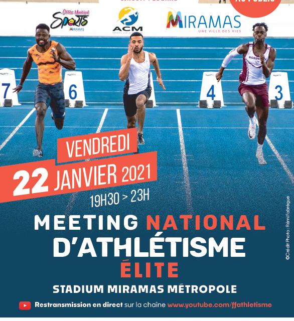 Meeting Elite Miramas : article du site de la Fédération FFA