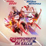 19 AU 21 FÉVRIER CHAMPIONNATS DE FRANCE EN SALLE