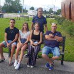 France jeunes à Evry Bondoufle avec nos 3 représentants