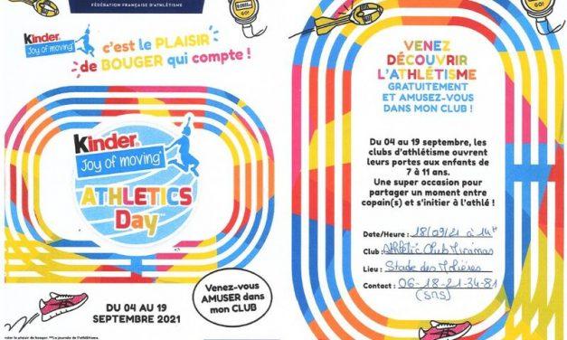 KID ATHLE 18 septembre 2021 Stade des Molières Miramas